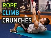 Rope Climb Crunches - More Fun & Effective Crunches