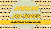 Ethnic Groups of Africa for CCAT Page