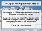 Digital Photography Free Trial
