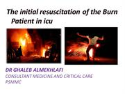 updates in burn resuscitation