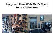 Large and Extra Wide Men's Shoes Store - XLFeet.com