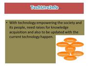 Online News Publication Of Technology  and Technology Products