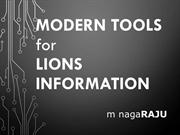 Communication Tools for LIons Clubs