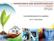 NANOTECHNOLOGY IN FARMING