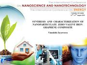 SYNTHESIS  AND  CHARACTERIZATION OF NANOPARTICULATE ZERO..