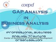 GAP Analysis in Business Analysis - COEPD