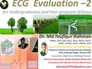 ECG evaluation for post graduate fellows