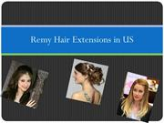 Human hair extensions in US