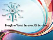 Benefits of Small Business SEO Services
