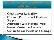 How to Determine the Best Web Hosting For You : Best Web Hosting Guide