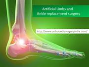 Ankle replacement surgery in Delhi