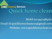 Bedrooms Dining Room Cleaning Services in delhi