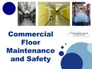 Commercial Floor Maintenance and Safety