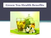 Feel younger and stay lively by Drinking Green Tea!