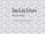 Glass buddy software solutions for glass industry