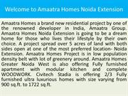 Our Projects Amaatra Homes 9873161628 AMAATRA HOMES NOIDA EXTENSION