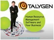 Human Resource Management Software and Your Business