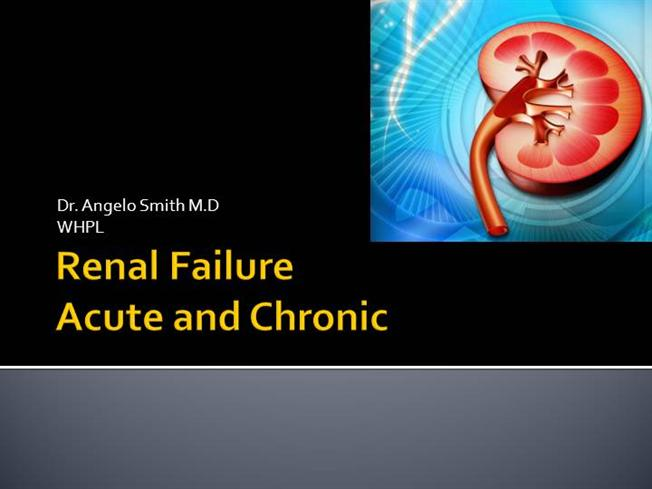 Renal failure acute and chronic authorstream toneelgroepblik Choice Image