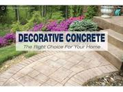 An Infographic on Decorative Concrete for Home