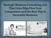 Strategic Business Consulting Get That Extra Edge Over Your Competitor