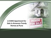 Brand New 2.5 BHK flat for sale in Pune at Amanora Trendy Homes