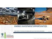 Investment Opportunity in Energy - ESDM (gabungan)