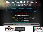 Online Sap Bods Training In South África