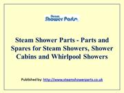 Steam Shower Parts - Parts and Spares for Steam Showers, Shower Cabins