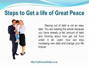 Steps to Get a life of Great Peace