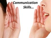 communication skills... basics on how to give presentation