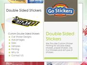 double sided stickers GoStickers