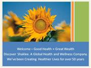 3 - Discover Shaklee