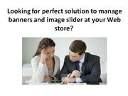 Free Image Slider Magento Extension