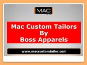 Reliable Tailor in Bangkok - Mac Custom Tailor