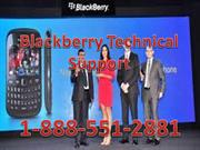 1-888-551-2881 Blackberry Technical Support