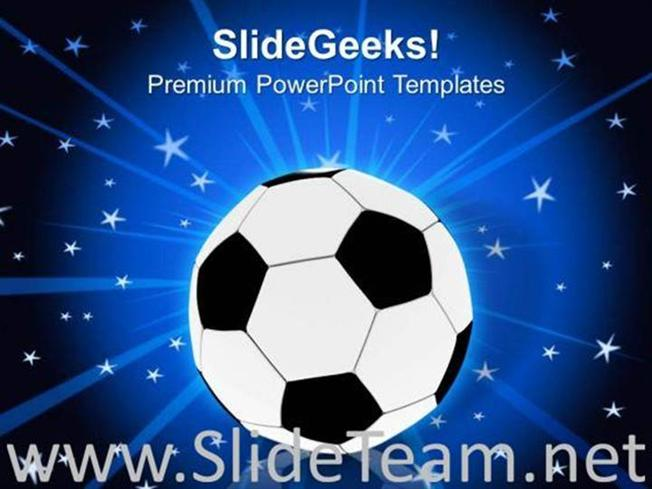 Football Game Powerpoint Template Powerpoint Template