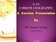 Gas Chromatography ppt