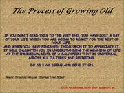The Process of Growing Old