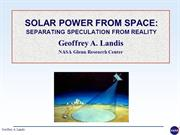 SOlar power Satellite_2014