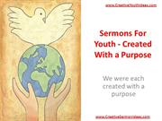Sermons For Youth - Created With a Purpose