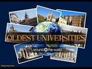 Oldest Universities Around The World