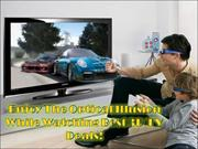 24 Inch 3D TV Deals- Superior Way Of Getting Best Online TV Deals!