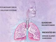 pulmonary drug delivery systems