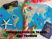 3RD LEC - TERMINOLOGIES FOR TRAVEL AND TOURISM