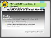 Introducción al Ethical Hacking