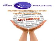 Rheumatoid arthritis needs proper care