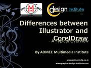 differentiate illustrator n coreldraw