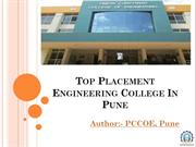 Top Placement Engineering College In Pune