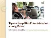Points to remember to keep kids busy