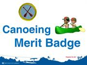 Canoeing Merit Badge